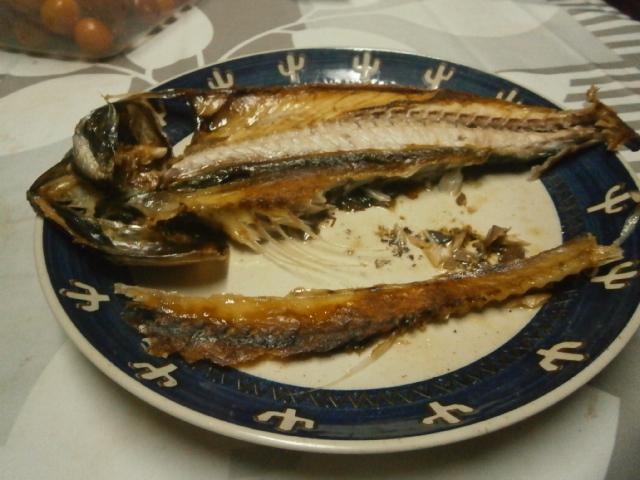 鯖の開きは骨まで食す|アンチエイジング