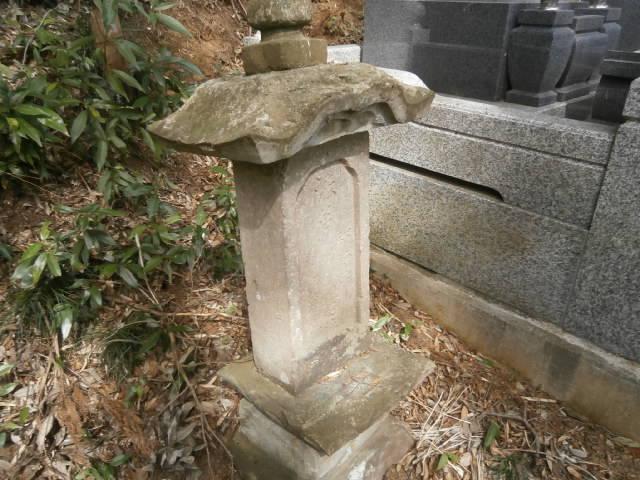 お彼岸の墓掃除2017
