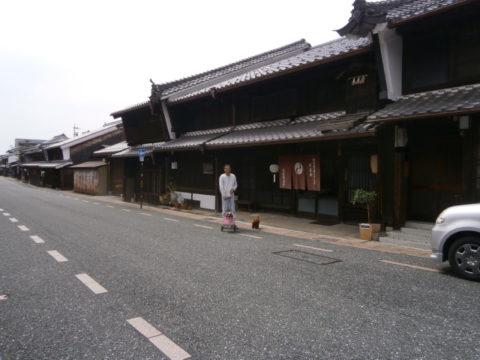 関市の古い町並み(うだつの上がる家)
